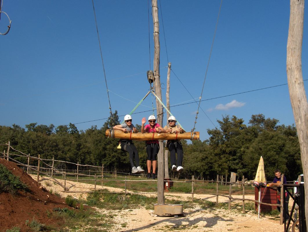 Giant Swing - 11 metre high for up to three people