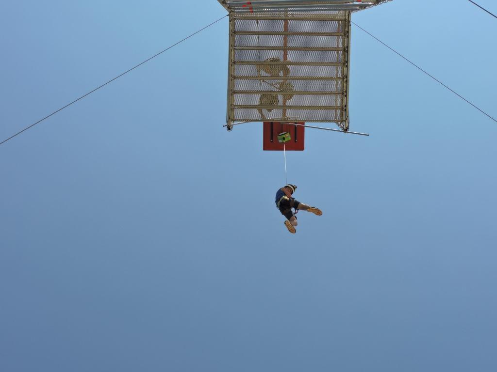 Quickjump - ein 20-m-Sprung