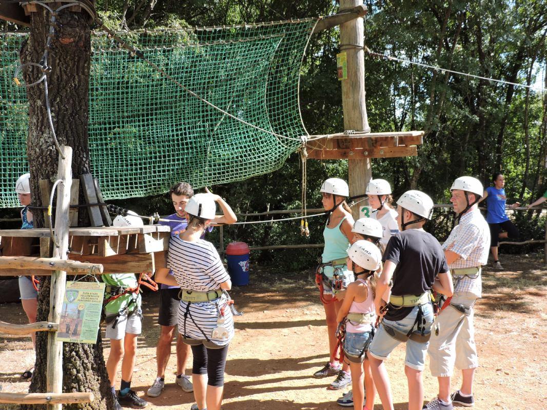 Три маршрута для детей ниже 10 (Базовый парк)<br>