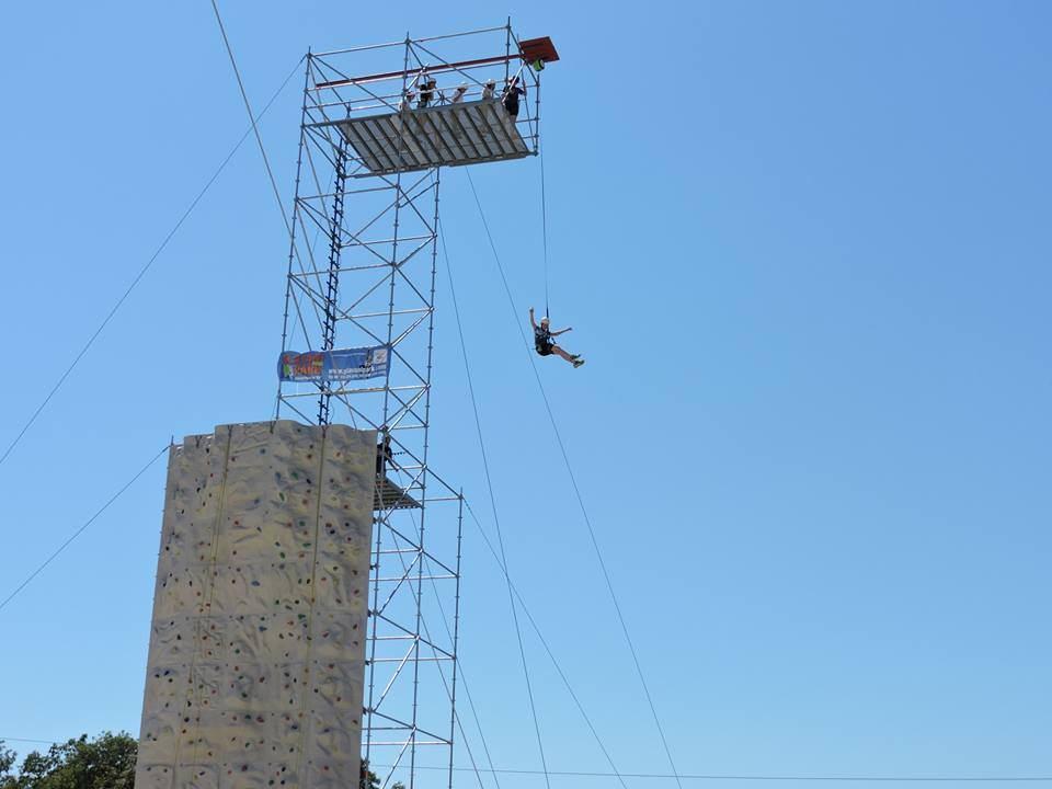 QuickJump - Sprung aus 20 Metern Höhe
