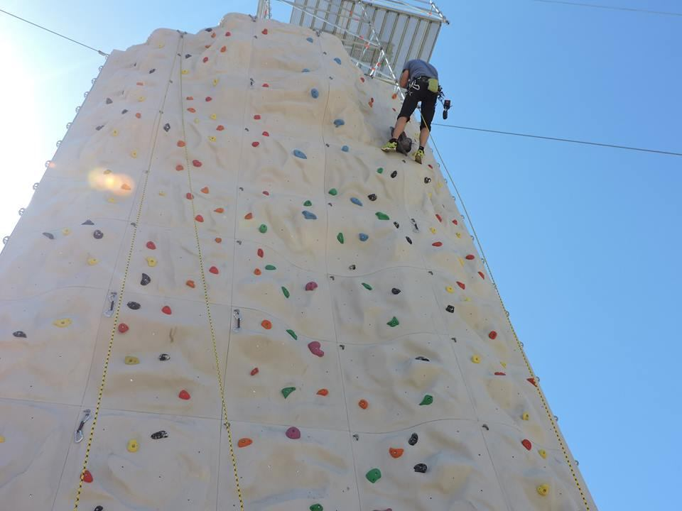 Climbing wall - daily ticket - kids upto 10yrs