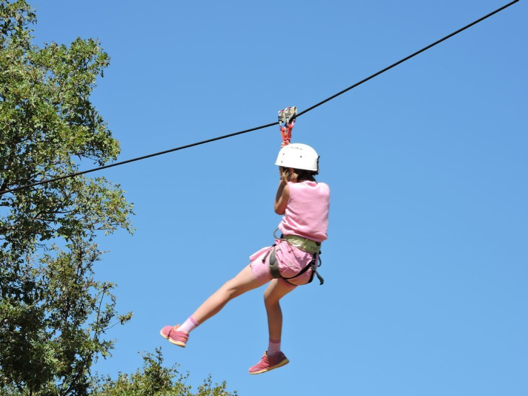 Zip Lines - kids upto 10 yrs